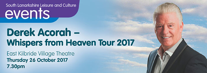 Derek Acorah - Whispers from Heaven Tour 2017