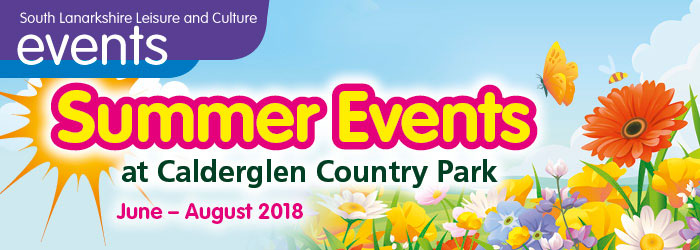 Summer Events at Calderglen Country Park