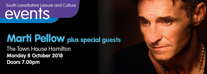 Marti Pellow plus Special Guests