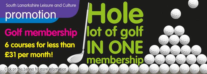 Golf Season Tickets on sale!
