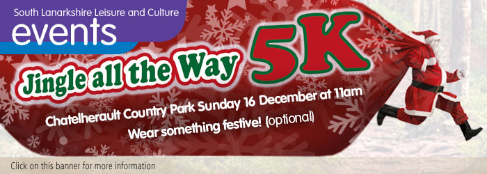 Jingle all the Way 5k at Chatelherault Country Park