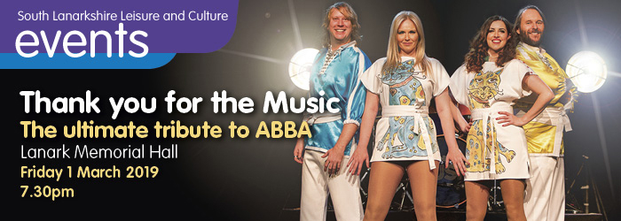 Thank you for the music - tribute to ABBA