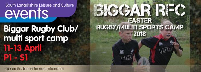 Biggar RFC Easter Camp