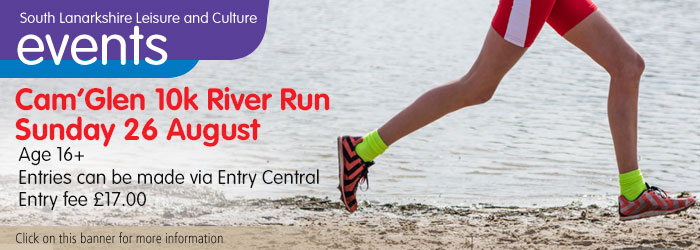 Cam'Glen 10K River Run, Sunday 26 August