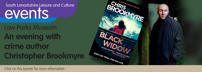 An evening with author Christopher Brookmyre