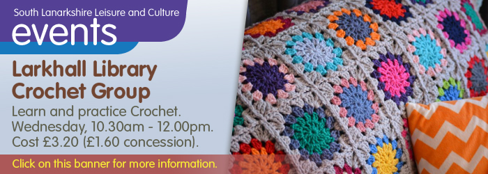 Larkhall Library, Crochet Group