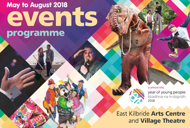 East Kilbride Arts Centre brochure