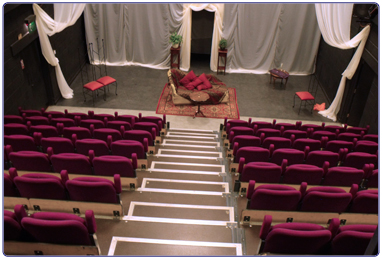 East Kilbride Arts Centre theatre.