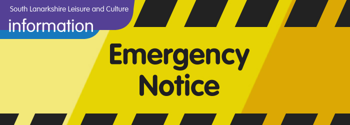 Blantyre Leisure Centre Swimming Teaching Pool Closure Times