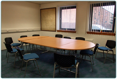 Hiring library meeting rooms