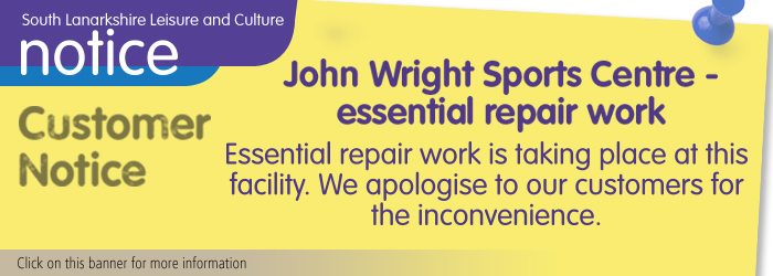 John Wright Sports Centre Maintenance