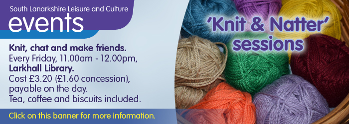 Knit and Knatter Sessions