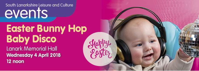 Easter Bunny Hop Baby Disco