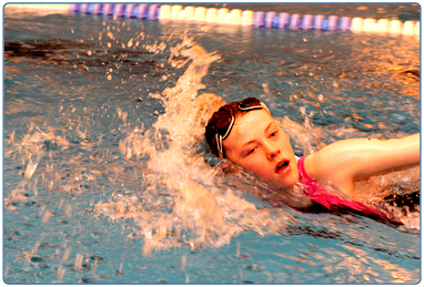 Level 2-improvers swimming lessons at South Lanarkshire Leisure and Culture