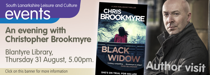 An evening with Christopher Brookmyre