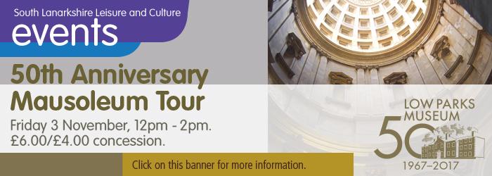 50th Anniversary Mausoleum Tour