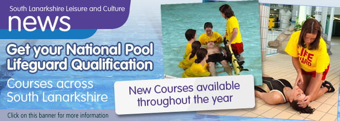 National Pool Lifeguard Qualification courses with South Lanarkshire Leisure and Culture