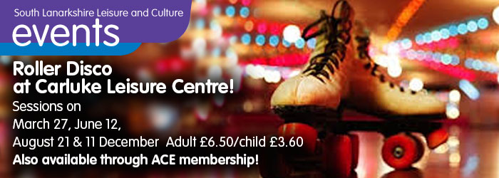 Carluke Leisure Centre Roller Disco