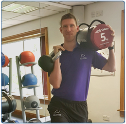 Scott Davidson staff member at South Lanarkshire Leisure and Culture