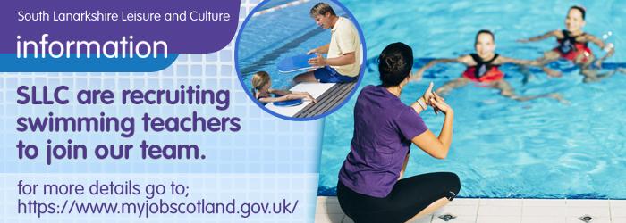 Swimming Teacher Recruitment