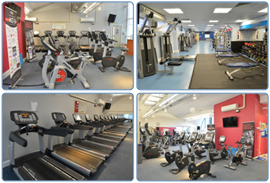 The Gym at the Dollan Aqua Centre