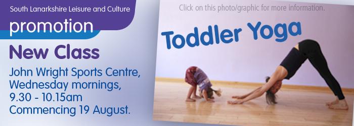 New Class - Toddler Yoga