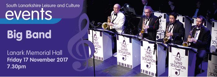 Big Band Ball, Lanark Memorial Hall, Lanark, South Lanarkshire