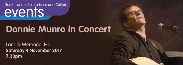 Donnie Munro in Concert