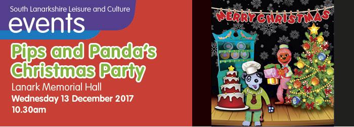 Pips and Panda's Christmas Party, Lanark Memorial Hall, Lanark, South Lanarkshire,