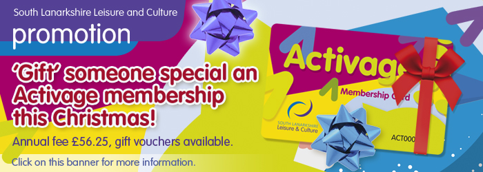 Gift someone special an Activage membership this Christmas