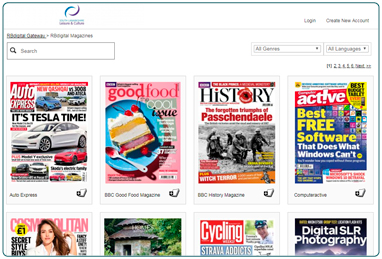 eMagizines from South Lanarkshire Leisure and Culture's Library.