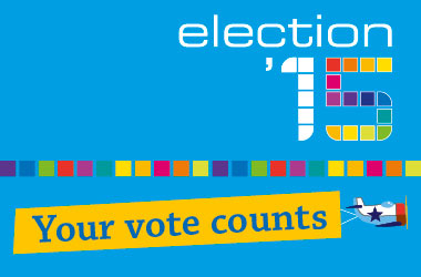 Your vote counts image for Elections 2015
