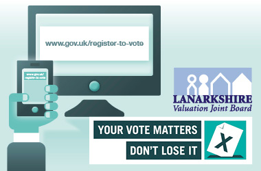 graphic promoting Annual Voter Registration Canvass 2016