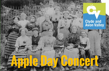 'Apple Day', a collection of new songs written about the historic Clyde Valley orchards through a project led by the Lanarkshire Songwriters