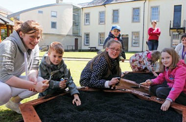 Low Parks Museum archaeology workshop for kids