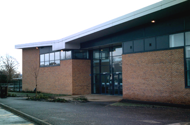 exterior view of Biggar Sports Centre (taken from South Lanakrshire Leisure and Culture website