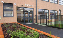Blackwood nursery entrance