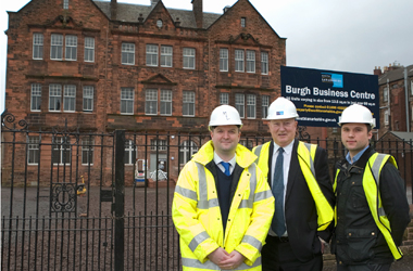 former Burgh Primary School transformed into business units