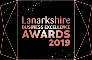 2019 Lanarkshire Business Excellence Awards logo