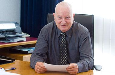 Leader of South Lanarkshire Council Eddie McAvoy