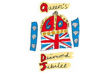 Queen's Diamond Jubilee emblem