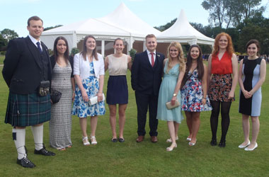 Duke of Edinburgh Gold Award winners