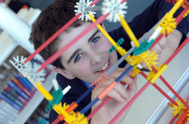 East Kilbride pupils have taken part in an engineering challenge that was 'out of this world'