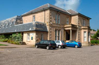 exterior view of East Kilbride Arts Centre