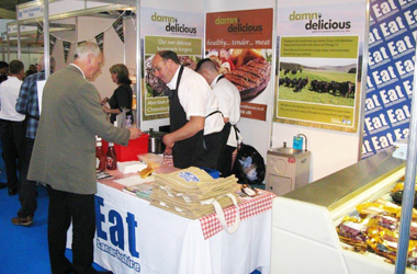 producers at an Eat Lanarkshire event 2015