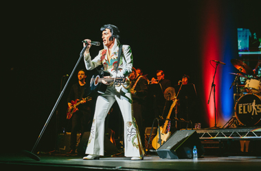 Lee Memphis King, Europe's most successful Elvis Presley tribute act is coming to Lanark Memorial Hall