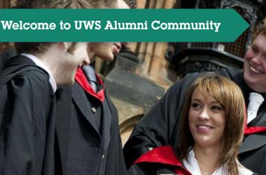 UWS alumni poster