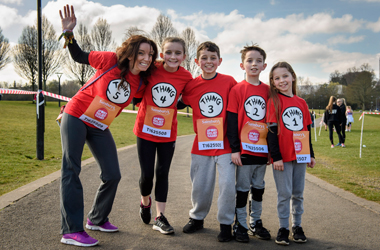 runners of all ages who took part in the Sport Relief Mile in Hamilton 2016
