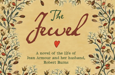 part of the cover of the novel 'The Jewel' by Catherine Czerkawska