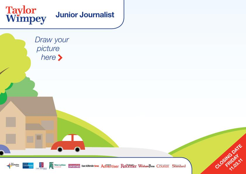 part of application form for junior journalist competition